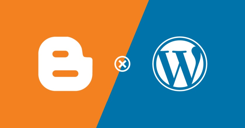 blogger ou wordpress