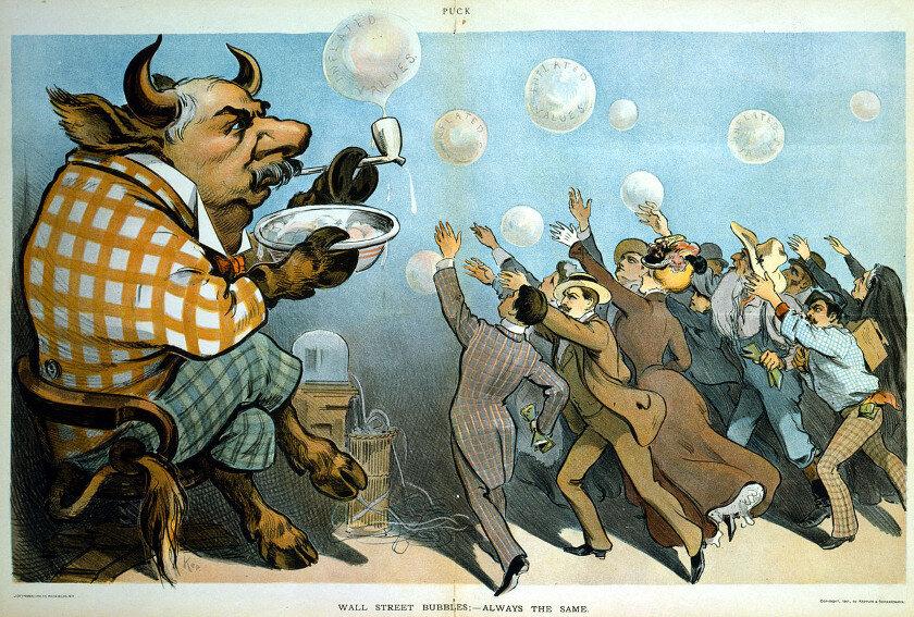 bolha financeira nos estados unidos