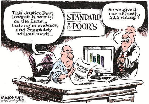 standard poors charge